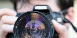 czysty obiektyw w aparacie